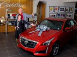 First 2014 Cadillac CTS Vsport delivered to customers