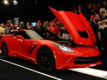 First 2014 Chevrolet Corvette Stingray sells for $1.1 million - Image: Barrett-Jackson
