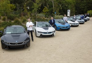 First BMW i8 Plug-In Hybrid Sport Coupes Delivered At Pebble Beach Concours