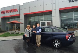First 2016 Toyota Mirai Fuel-Cell Car Delivered in California