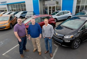 First 2017 Chevy Bolt EV electric cars sold today, in California