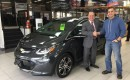 First 2017 Chevrolet Bolt EV in Canada (photo by owner Joe Winkfein)
