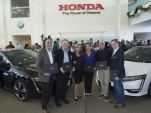 First 2017 Honda Clarity Fuel Cell customers, Torrance, California