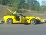 First customer 2014 Corvette Stingray crashed?