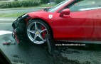 More Details: First Ferrari 458 Italia Wrecked In Poland