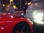 First Ferrari F12 Berlinetta crash - Image courtesy of CarNewsChina