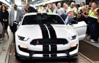 First Ford Mustang Shelby GT350Rs Roll Off The Line At Flat Rock Plant