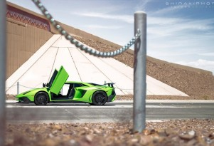 First Lamborghini Aventador LP 750-4 SuperVeloce in United States - Image via Jordan Shiraki