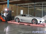 First Lexus LFAs deliverd to U.S. Photo via Kaizen Factor.