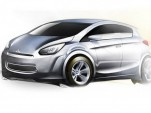 First sketches for Mitsubishis new global small car