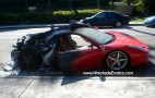 First Wrecked Ferrari 458 Italia On U.S. Soil, Nine In Total