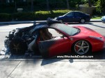 First wrecked Ferrari 458 Italia on U.S. soil