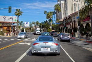Fisker Karma in Los Angeles