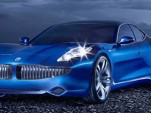 Fisker Karma luxury plug-in hybrid saloon