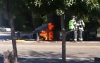Fisker Karma Catches Fire In California: Video
