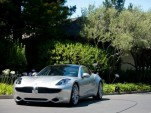 Ray Lane takes delivery of the first Fisker Karma