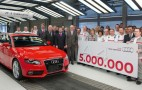 Five-Millionth Audi A4 Rolls Off The Production Line