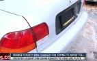 Florida man rigs up device to block his plate from toll cameras