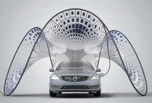 Is This Volvo Solar Pavilion The Ultimate Electric Car Accessory?