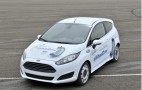 In-Wheel Motor Electric Ford Fiesta Previews Future Urban Vehicles