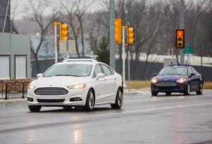 Ford autonomous car development