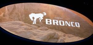 Ford Bronco logo, 2017 Detroit auto show