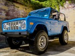 1976 Ford Bronco restoration by Velocity Restorations
