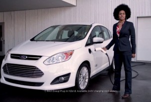 Ford C-Max Energi 'Upside' parody advert