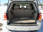 Ford Escape Hybrid Cargo Space (Seats Up)