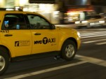 Ford Escape Hybrid New York Taxi. Image by Flickr user Jason Tabarias