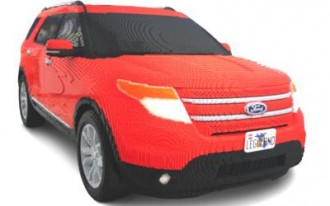 Lego My Ford Explorer: Florida Theme Park To Feature Family SUV