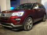 2018 Ford Explorer, 2017 New York auto show