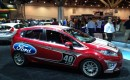 Ford Fiesta B-Spec race car at SEMA 2011