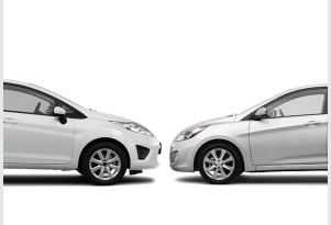 Ford Fiesta Vs. Hyundai Accent: Compare Cars