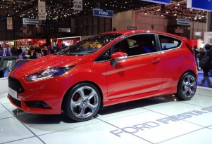 2013 Ford Fiesta ST live photos