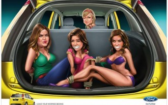 Ford Apologizes For Ad Featuring Paris Hilton & Bound, Gagged Kardashians