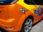 Ford Focus Electric - Refueling Area
