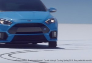 Ford Focus RS Ad