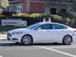 Ford Fusion autonomous car prototype