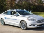 Ford Fusion Hybrid self-driving prototype