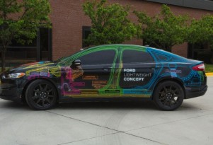 Ford Fusion Lightweight Concept: How To Make A Car 25 Percent Lighter
