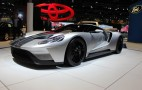 2017 Ford GT Shows Off Its Curves In Silver At The 2015 Chicago Auto Show