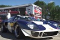 Ford GT40 shows up to drag racing event and does well against modern cars