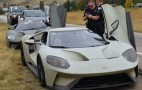 Even Ford GT prototypes get pulled over for speeding