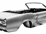 Ford-Licensed Restoration Parts offers 1967 Mustang Convertible body shell