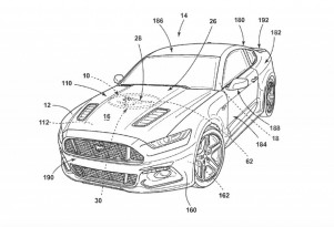 Diagram from Ford patent for heat-generated graphics