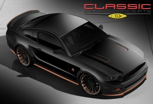 Ford Mustang Bad Penny by Classic Design Concepts, SEMA 2013