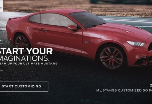 Ford Mustang Customizer app