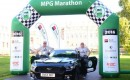 Ford Mustang GT at 2016 MPG Marathon, U.K.