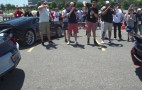 Lamborghini Centerario and Ford Mustang Shelby GT350R sound off in rev battle
